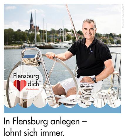 In Flensburg anlegen - lohnt sich immer.